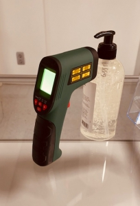 Infrarood temperatuur meting
